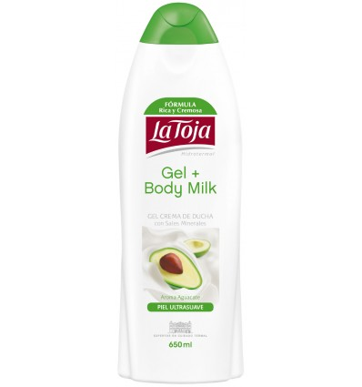 GEL AGUACATE + BODY MILK